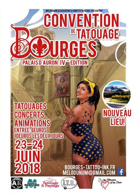 Bourges, Orange, Chaudes-Aigues : 3 actions de Noël pour les Tatoueurs ont du Cœur